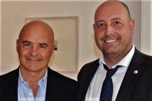 con Luca Zingaretti.